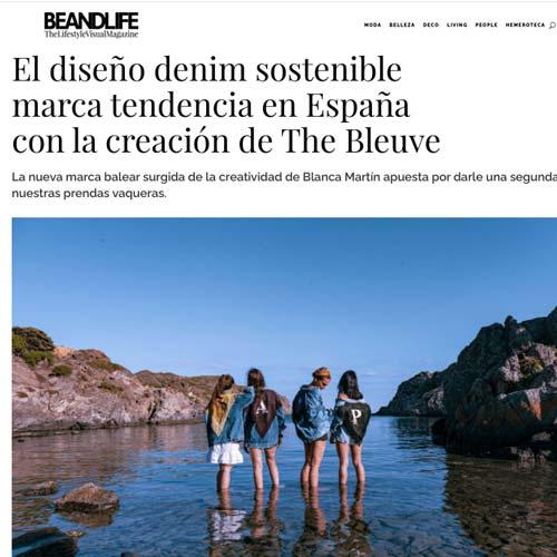 Reportaje Chaquetas denim vintage pintadas a mano con Beandlife magazine