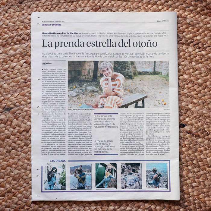 Entrevista Diario Mallorca The Bleuve