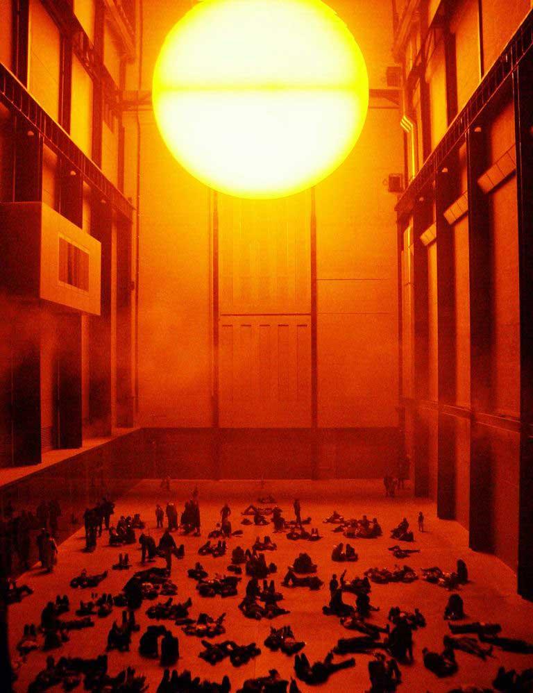 The Weather Project por Olafur Eliasson